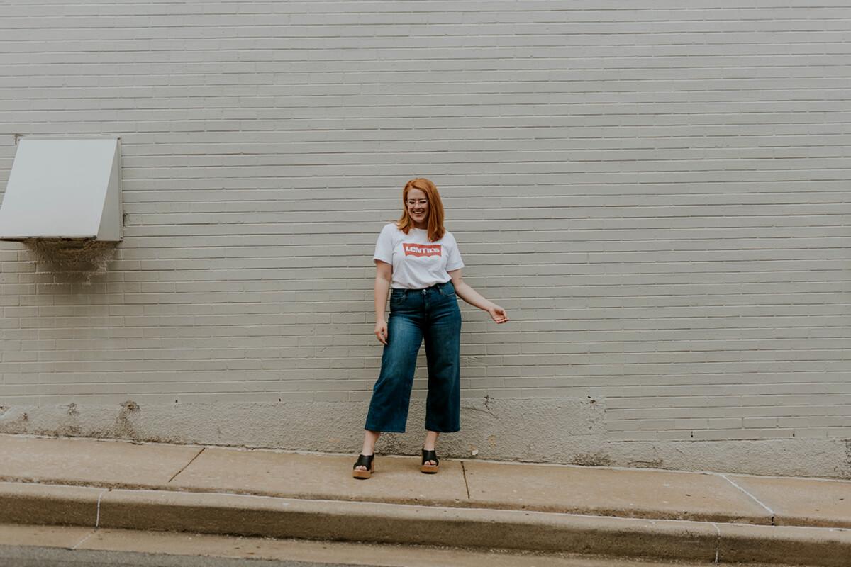 Le jean et ses coupes en denim sans stretch