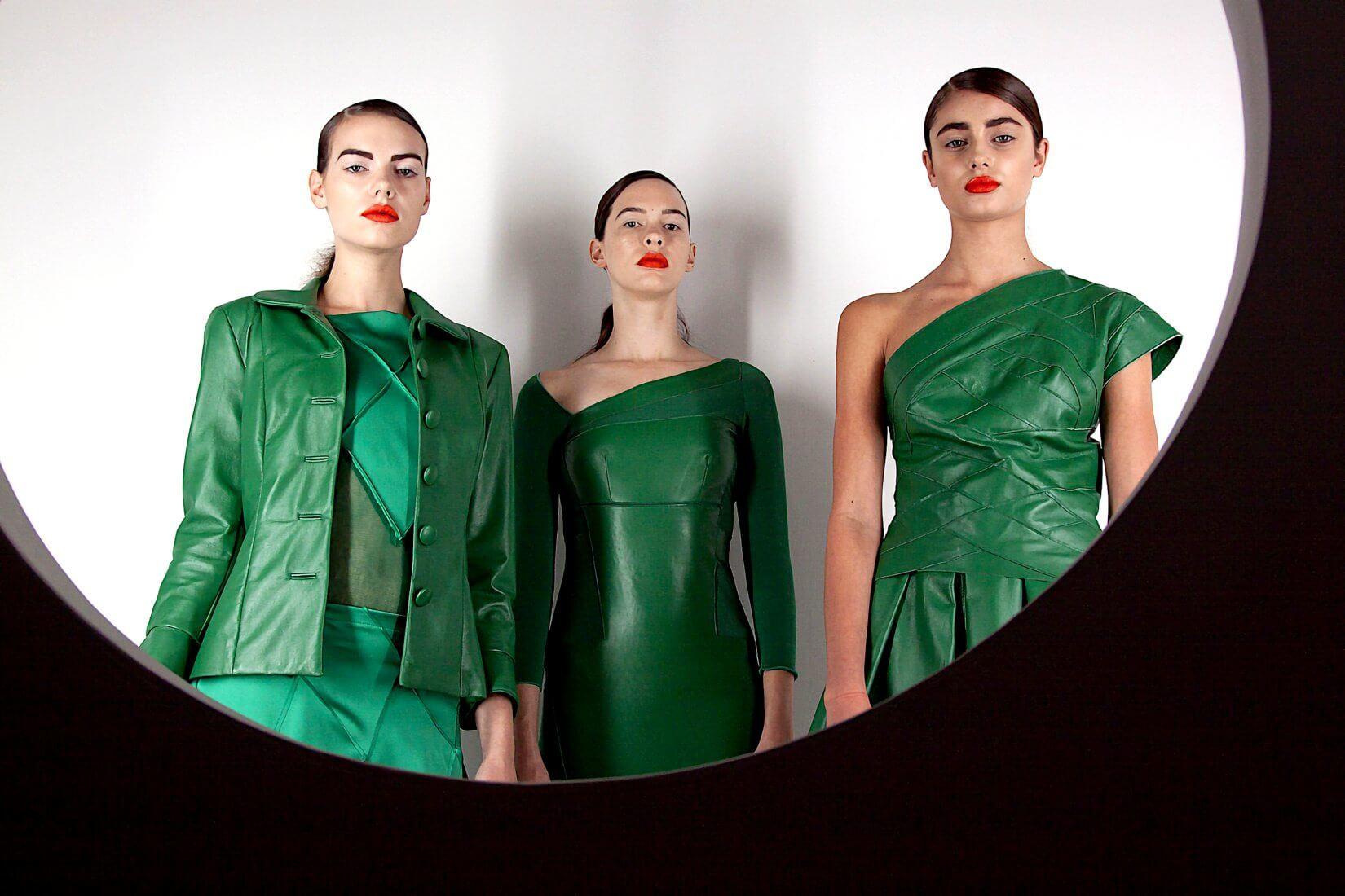 L'obsession mode pour le vert