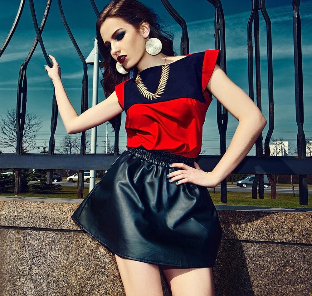 Oser le rouge et le noir : l'inspiration mode
