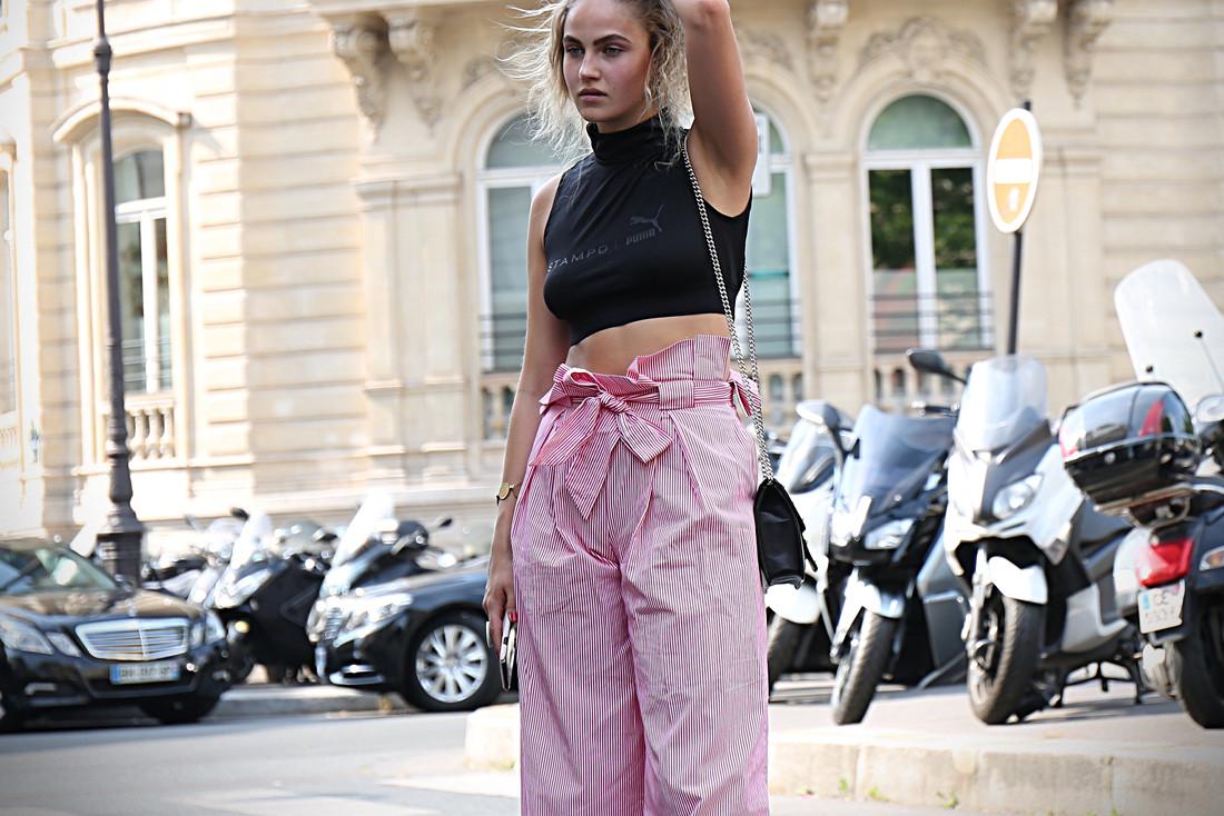 Le pantalon large : looks d'Instagram