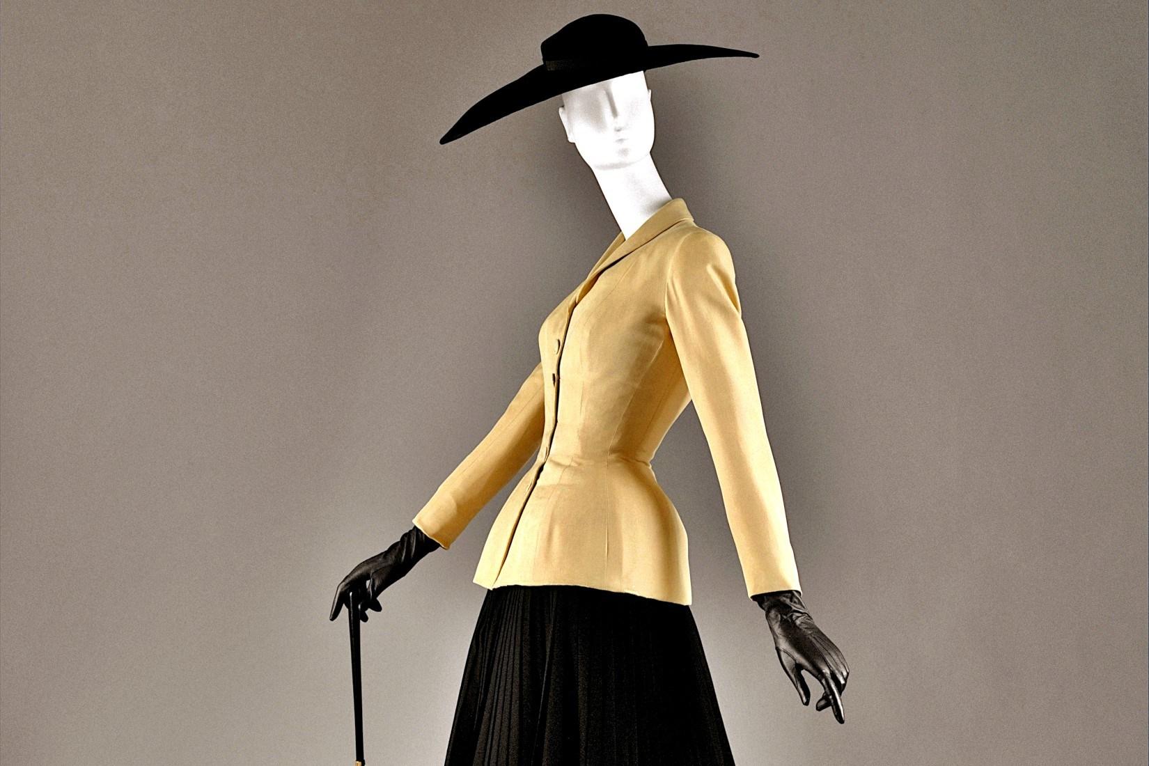Créations de Dior en 1947 : dans le rétro