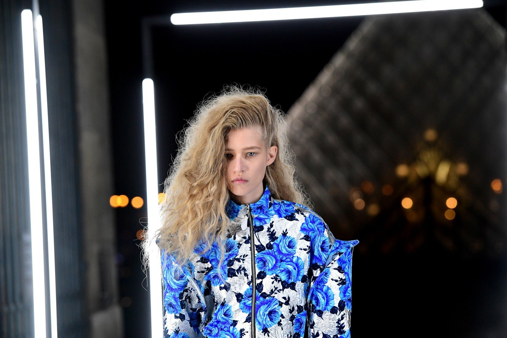 Brocart chez Louis Vuitton au printemps/été 2019
