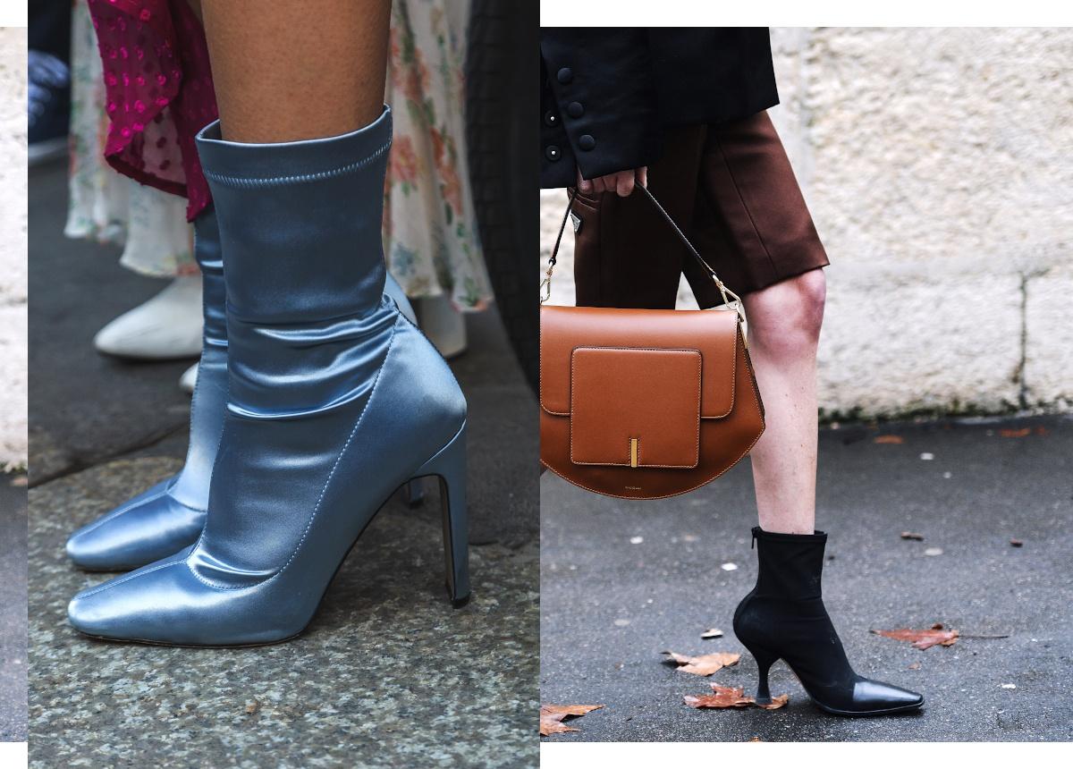 Bottines-chaussettes : des chaussures à la mode?