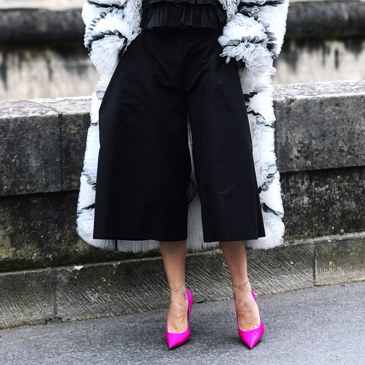 Anatomie d'un look: la jupe-culotte pointue