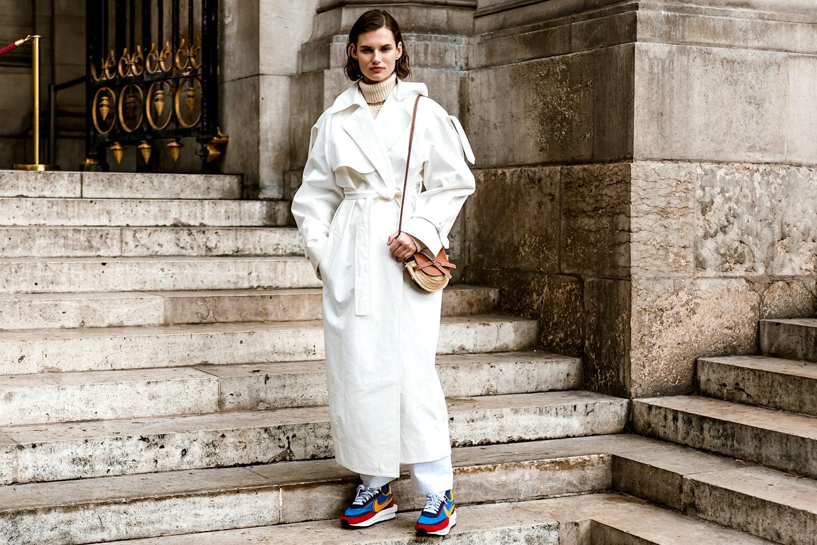 Instagram : porter le total look blanc en hiver