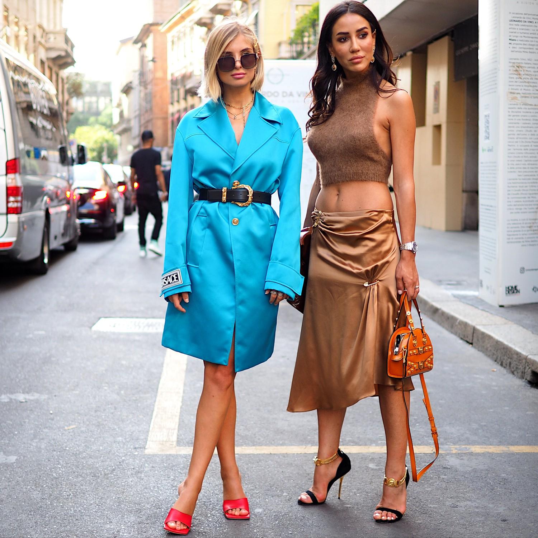 Tenues fatales pendant la Fashion Week Hommes de Milan