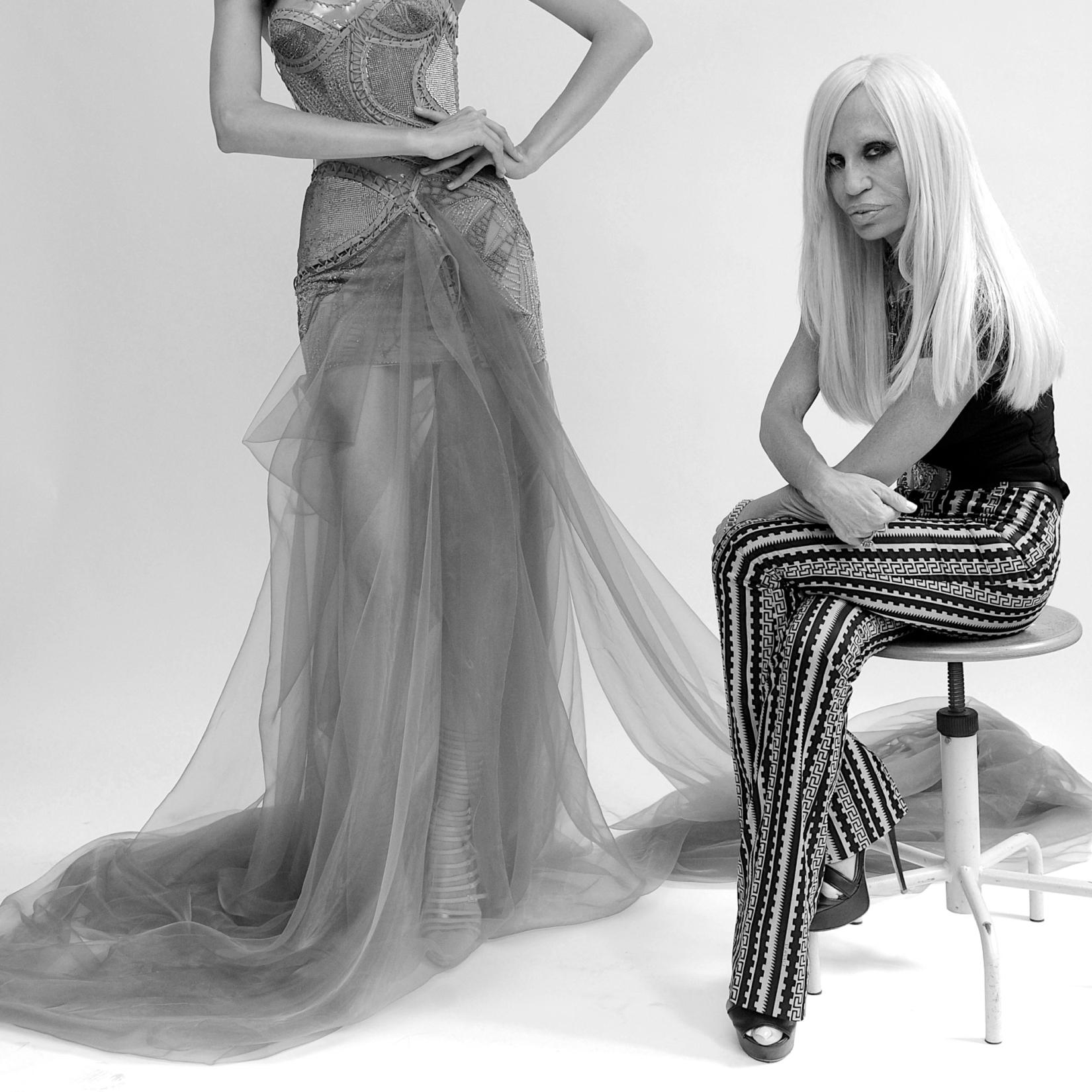 Donatella Versace: son avis sur le glamour
