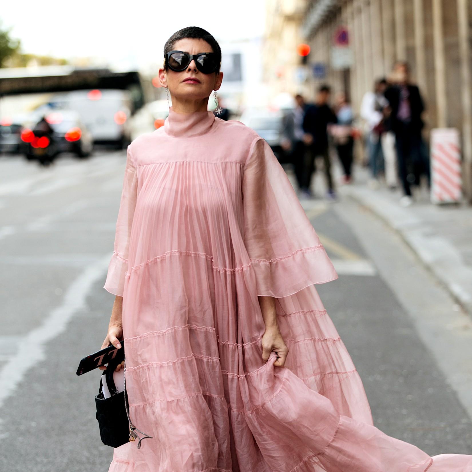 Mémorable en robe longue extra-oversize d'été