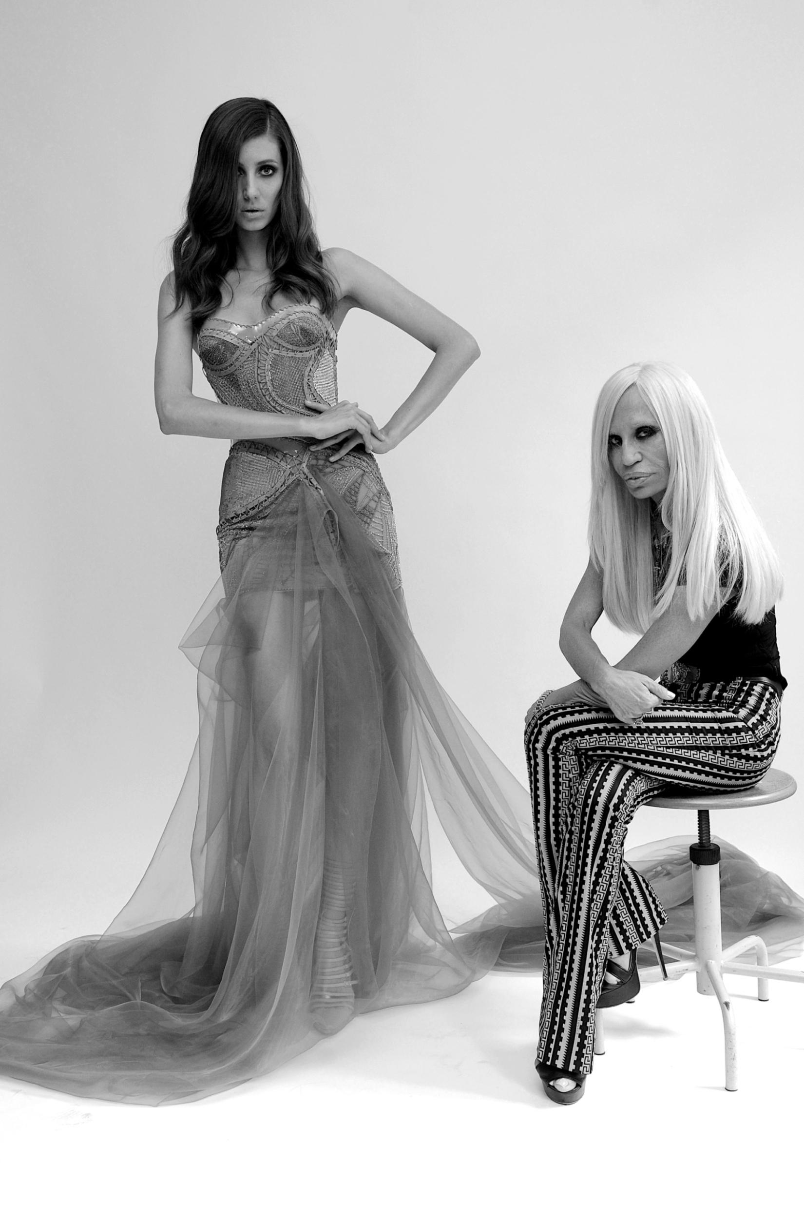 Donatella Versace a dit sur le glamour…