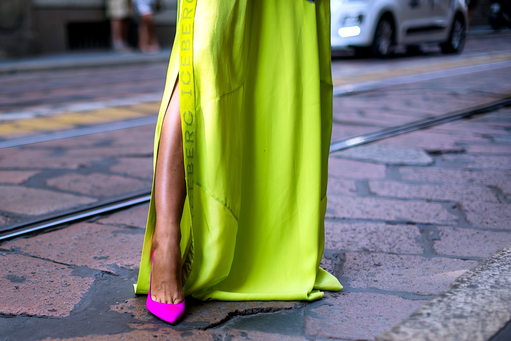 Green sheen ou vert lime: couleur à la mode