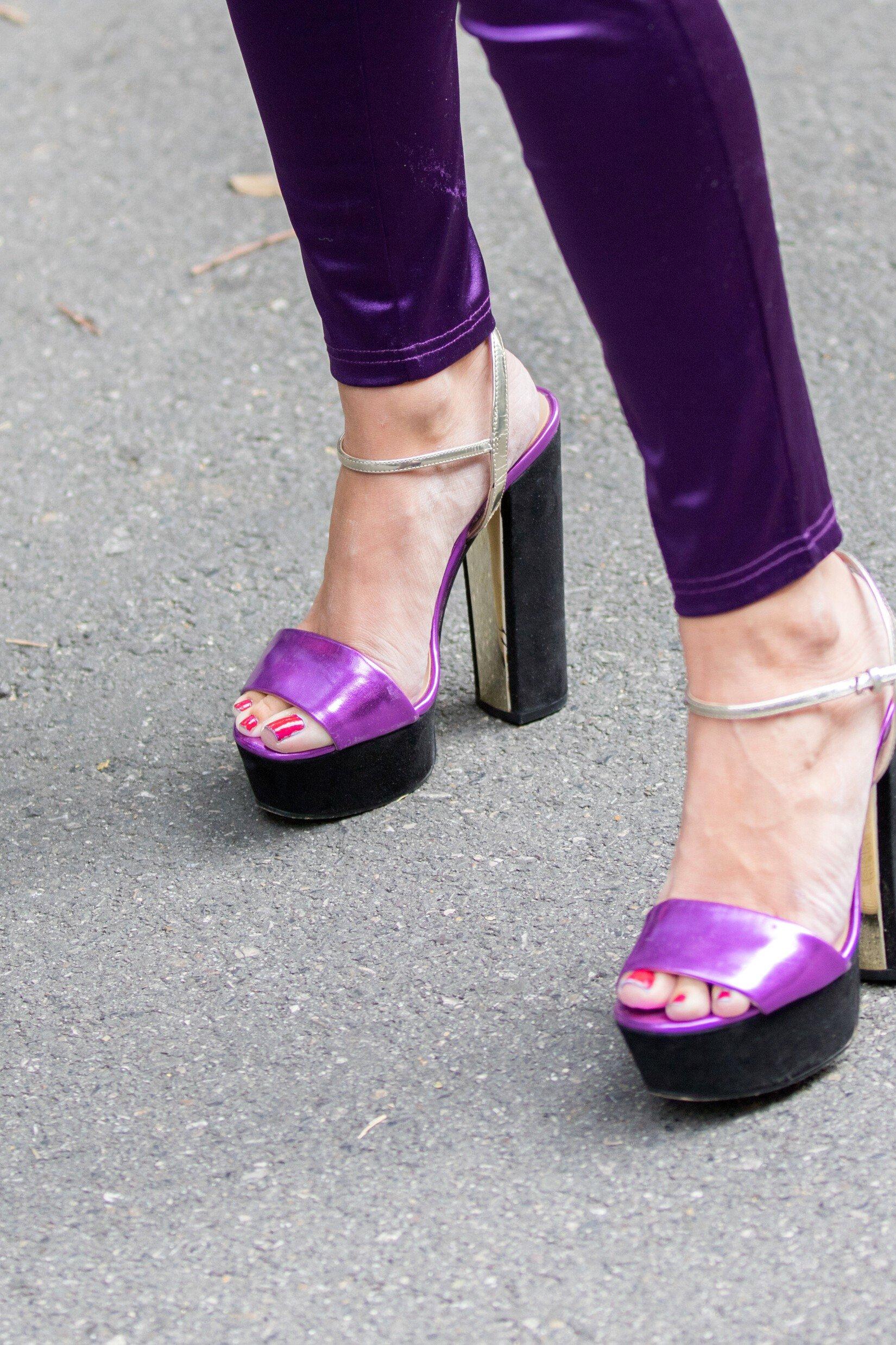 Chaussures à plateformes creuses: 6 modèles dans la tendance
