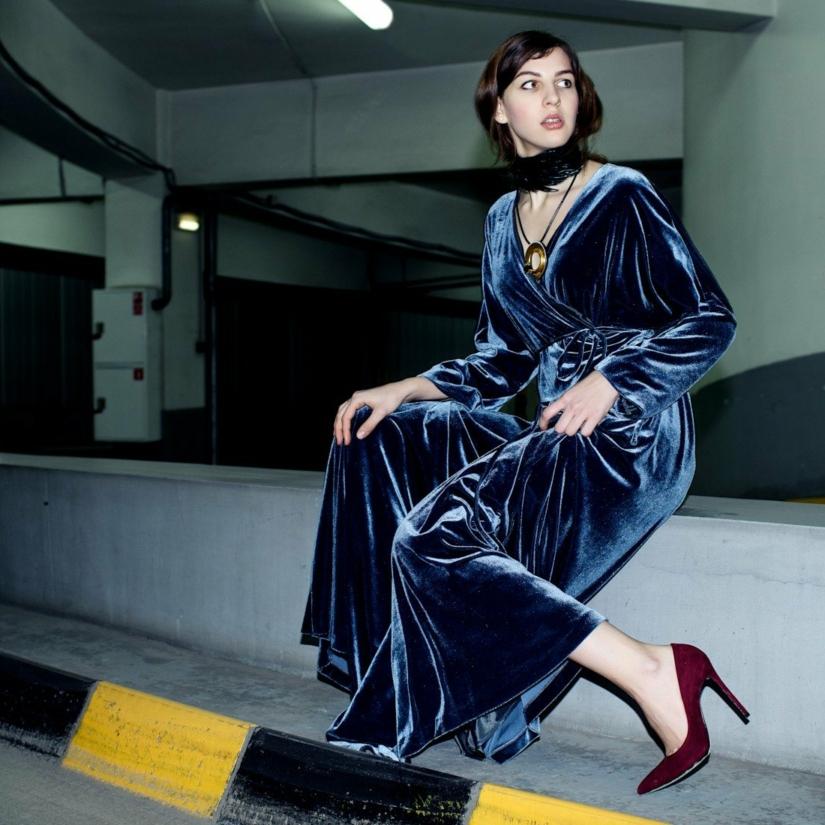 4 vêtements en velours tendance pour femme